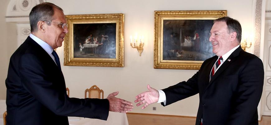 Rusya Dışişleri Bakanı Lavrov Pompeo ile görüşmek üzere Washington'a gidiyor