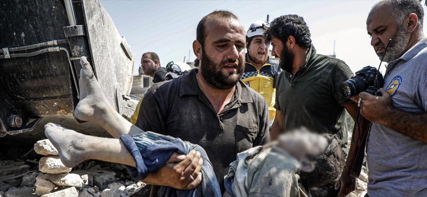 """""""Esed rejimi 2011 yılından bu yana yarım milyonu aşkın sivil öldürdü"""""""