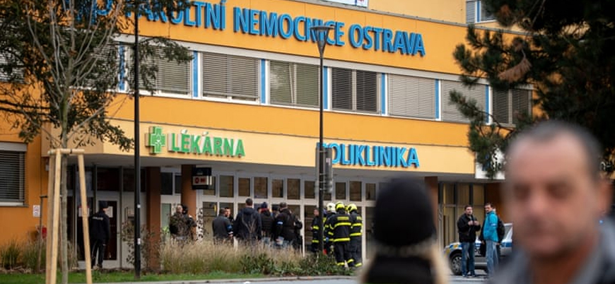 Çekya'da hastaneye silahlı saldırı: 6 ölü