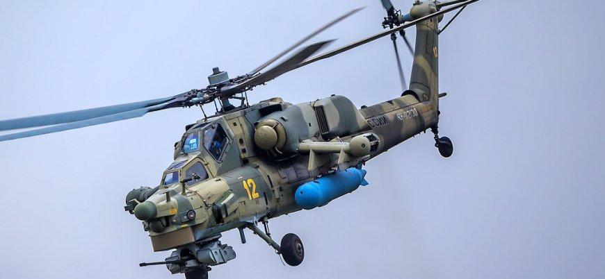 Rusya'da savaş helikopteri düştü: İki pilot öldü