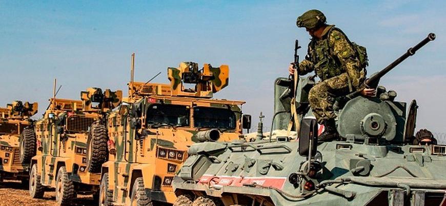 Türkiye ve Rusya'dan Suriye'de 15'inci ortak devriye