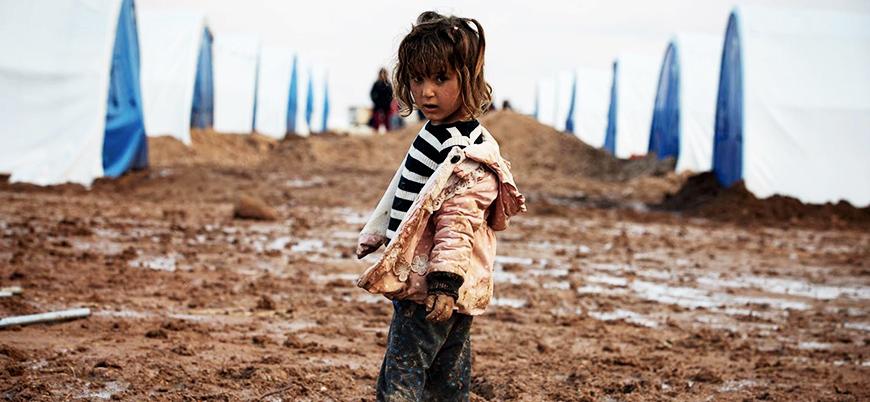 Rus bombardımanı, yeni göç dalgası ve sular altındaki mülteci kampları: Burası Suriye