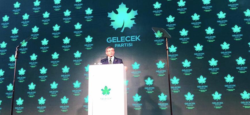 Ahmet Davutoğlu Gelecek Partisi'nin kuruluşunu ilan etti