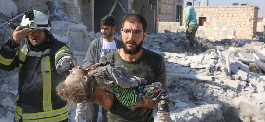 Esed güçleri Hama ve İdlib'de sivillere 40 günde 930 saldırı düzenledi