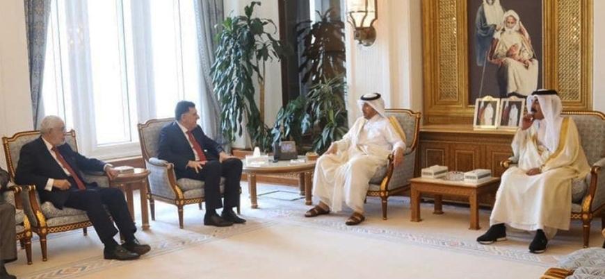 Katar'dan Libya Ulusal Mutabakat Hükümeti'ne destek açıklaması