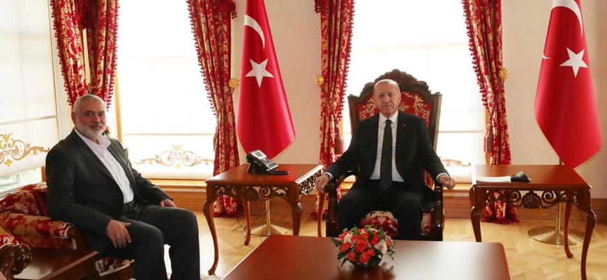 Cumhurbaşkanı Erdoğan ve Hamas lideri İsmail Heniye ne görüştü?