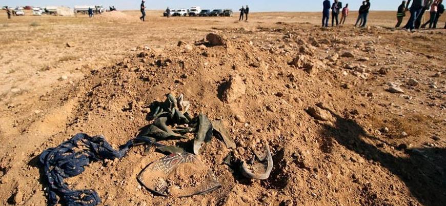 Irak'ta İran destekli Şii milislerin katlettiği Sünni sivillere ait toplu mezar bulundu