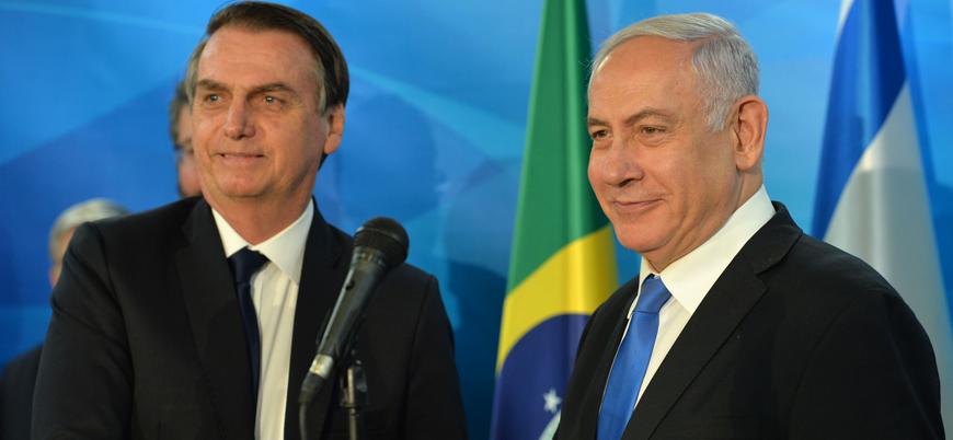 """Brezilya İsrail büyükelçiliğini Kudüs'e taşıyacak"""