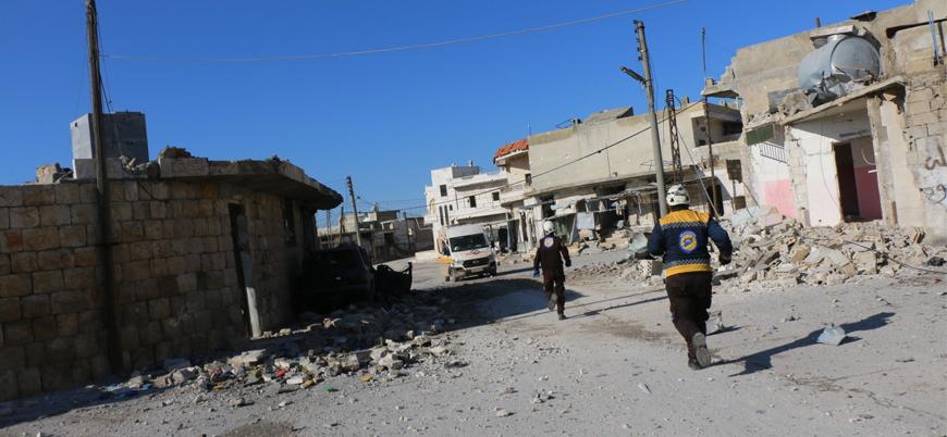 Rusya İdlib'de sivil katliamına devam ediyor: 22 ölü