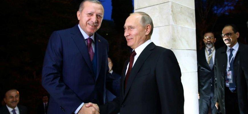 Erdoğan Putin ile Libya ve Suriye'yi konuştu