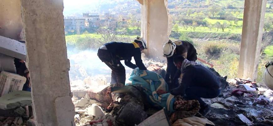 Rusya, İran ve Esed rejimi İdlib'de sivillerin üzerine ölüm yağdırıyor