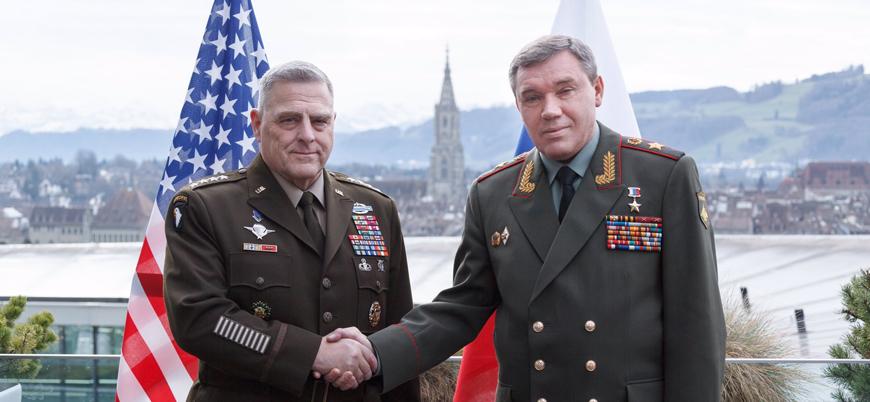 İlk yüz yüze görüşme: ABD ve Rusya genelkurmay başkanları Suriye'yi konuştu