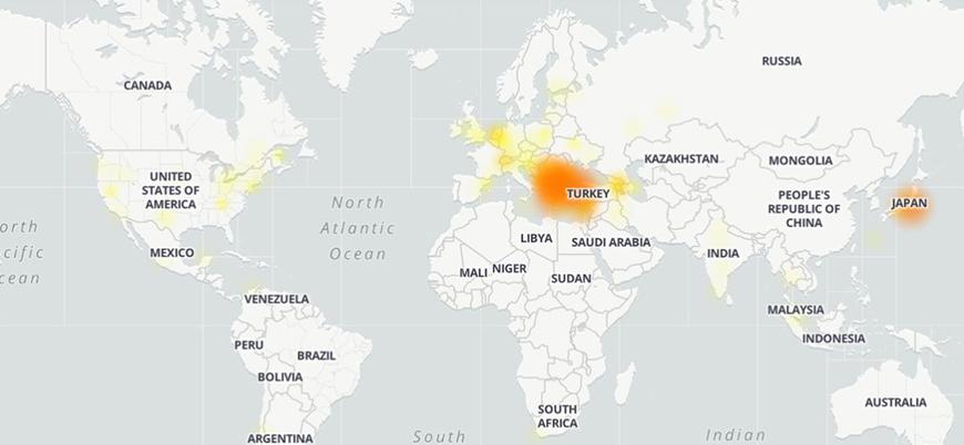 Türkiye'de Google'a erişim sağlanamıyor