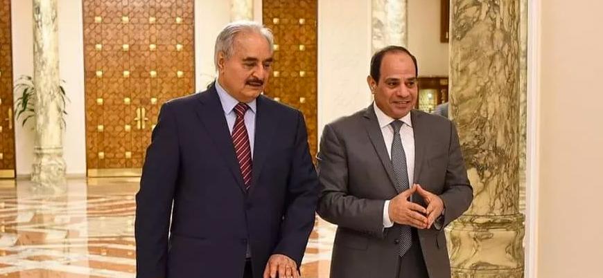 """""""Sisi Hafter'e Trablus'a girmesi için çok sayıda tank verecek"""""""