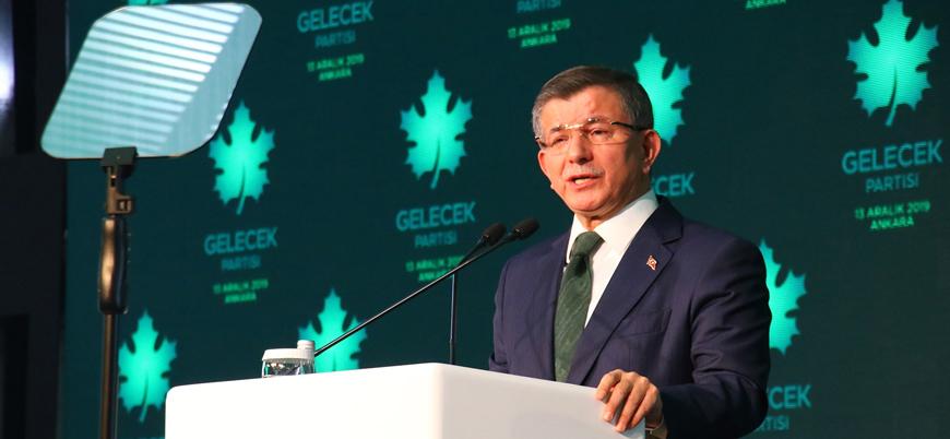 Gelecek Partisi lideri Davutoğlu: Buyrun seçime gidelim