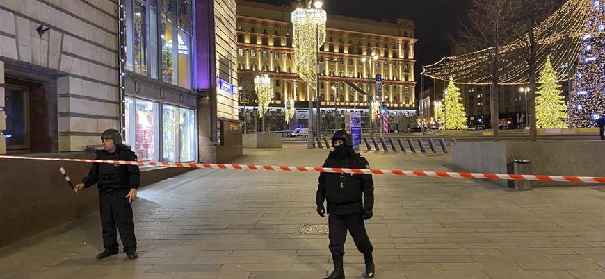 Moskova'da istihbarat servisi binasına silahlı saldırı