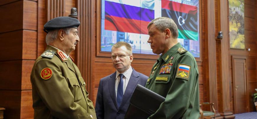 Hafter'den Putin'e mektup: Moskova için hazırım