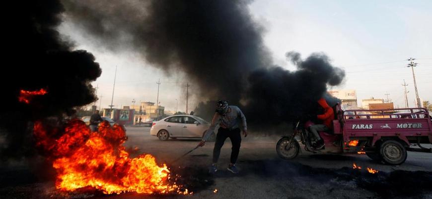 Iraklı göstericiler yeniden meydanlara indi