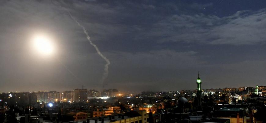 İsrail'den Esed rejimi ve İran'a hava saldırısı