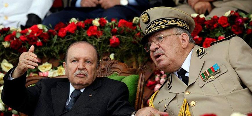Cezayir Genelkurmay Başkanı Salih öldü