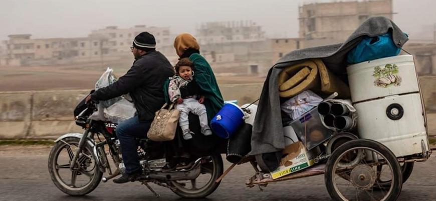 Rusya ve Esed rejiminin saldırıları nedeniyle 200 bini aşkın sivil yerinden oldu