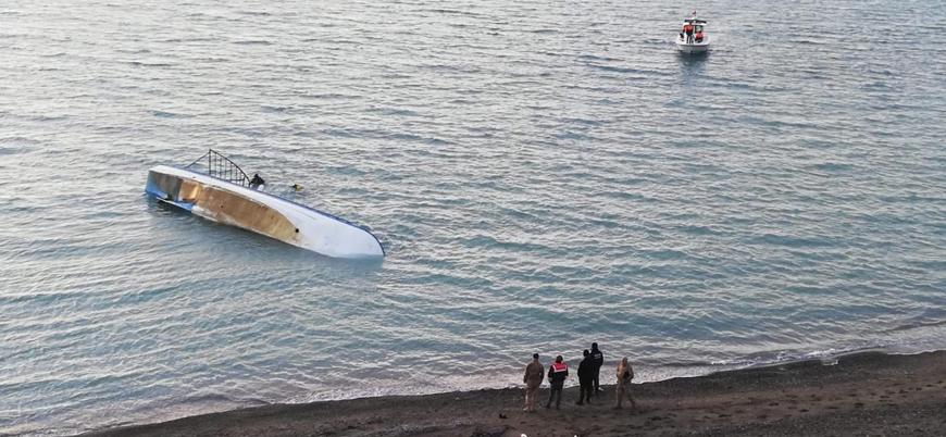 Van Gölü'nde göçmen teknesi battı: En az 7 ölü
