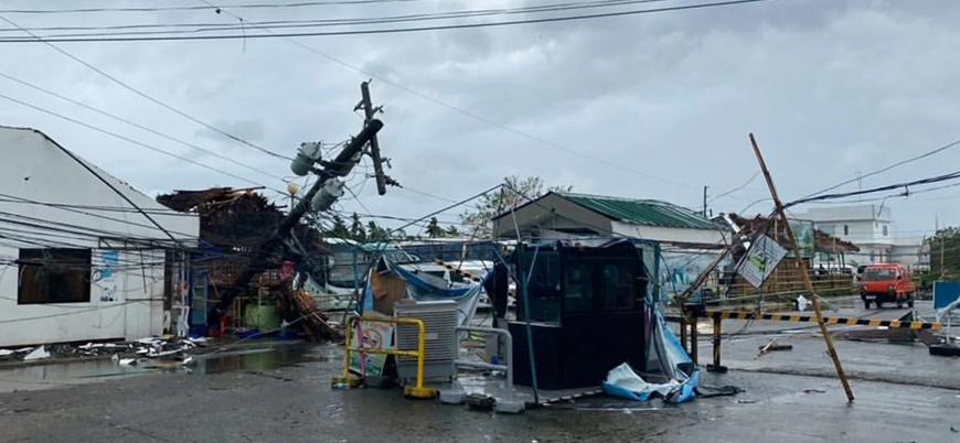 Ursula Tayfunu Filipinler'i vurdu: En az 16 kişi öldü