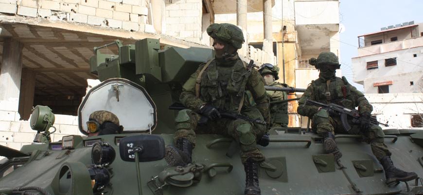 Rakka'da ABD'nin boşalttığı üsse Rusya yerleşti