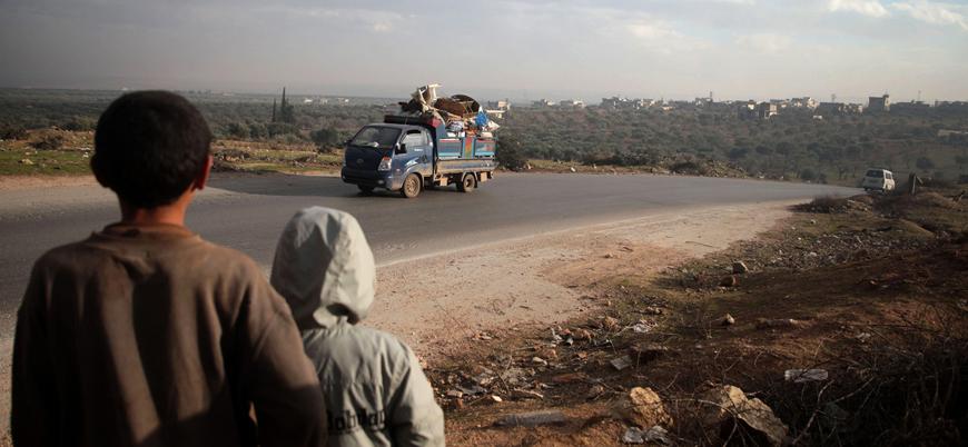 İdlib'de son iki hafta içerisinde 235 bin kişi yerinden edildi