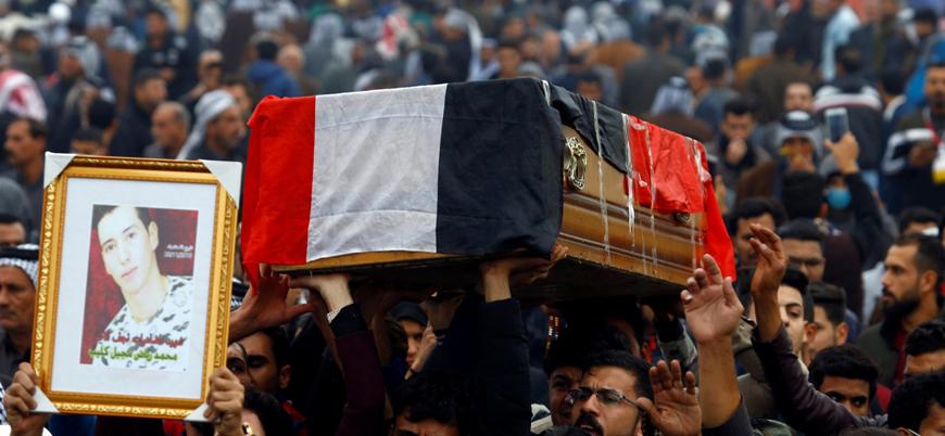 Irak'taki protestolarda 490 gösterici öldü 22 bin kişi yaralandı