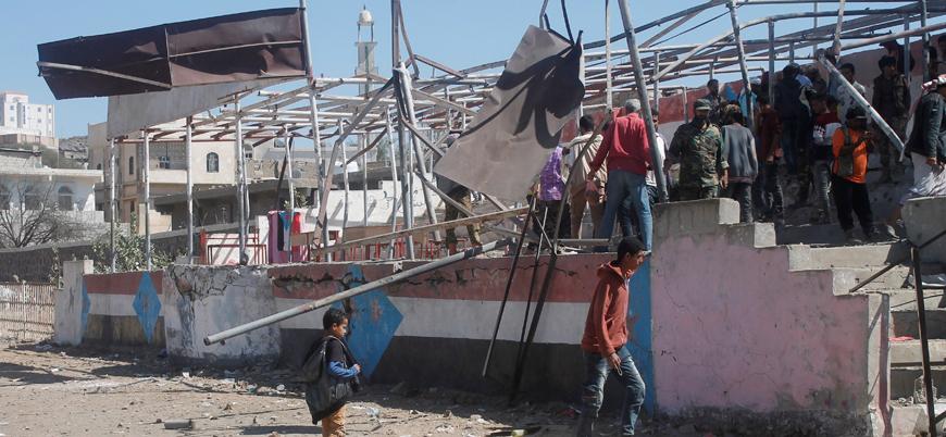Yemen'de Husilerden askeri mezuniyet törenine saldırı: 3'ü çocuk 9 ölü