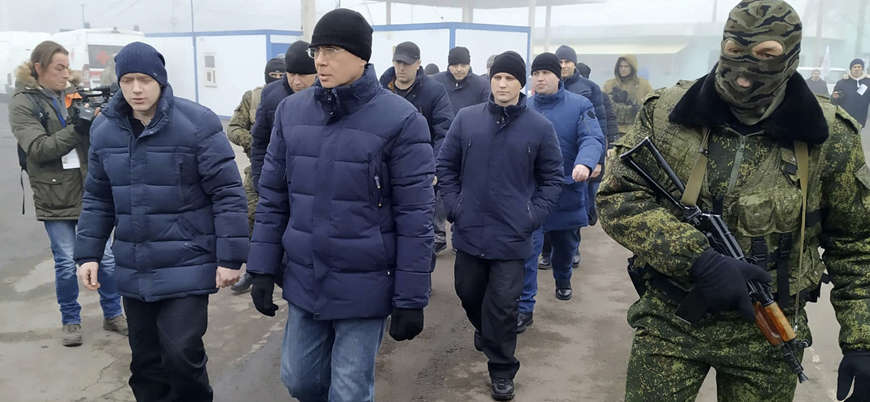 Ukrayna yönetimi ile Rus yanlısı ayrılıkçılar arasında esir takası