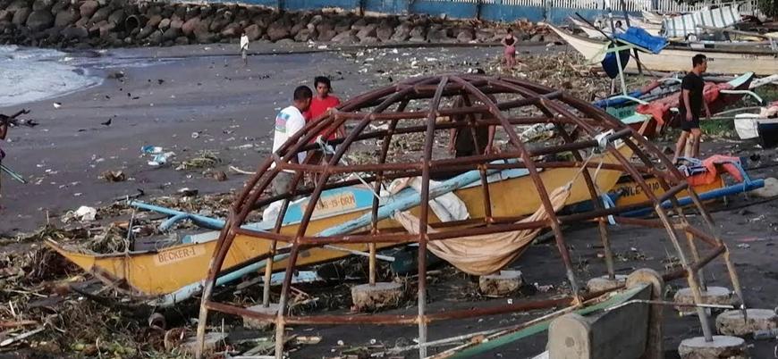 Filipinler'deki tayfunda ölü sayısı 41'e yükseldi