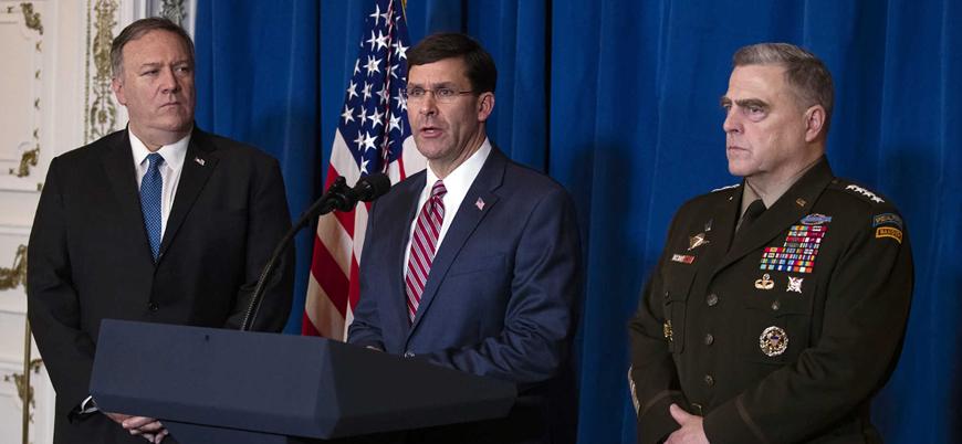 ABD Savunma Bakanı Esper: İran kararlılığımızı gördü