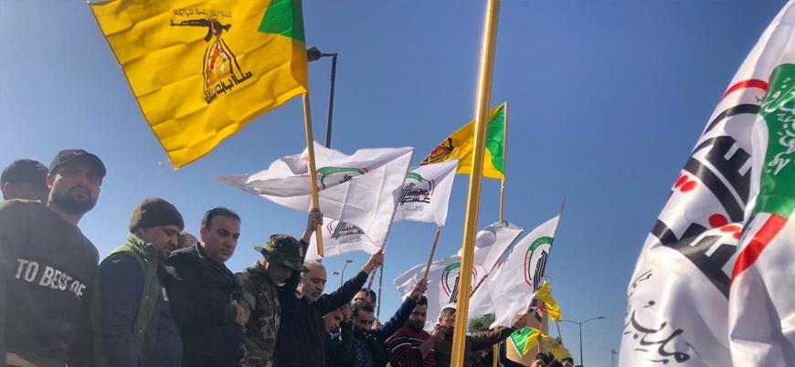 Irak'ta Şii göstericiler ABD elçiliğini kuşattı