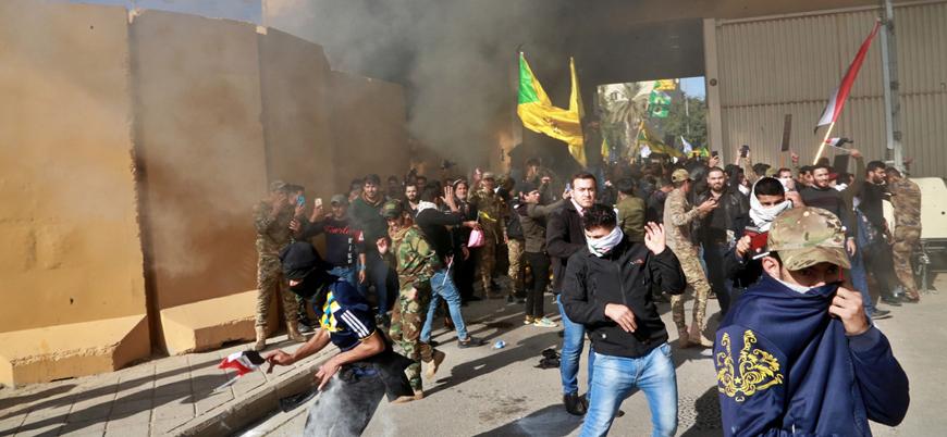 Trump:  Irak'taki ABD Büyükelçiliğine İran saldırdı