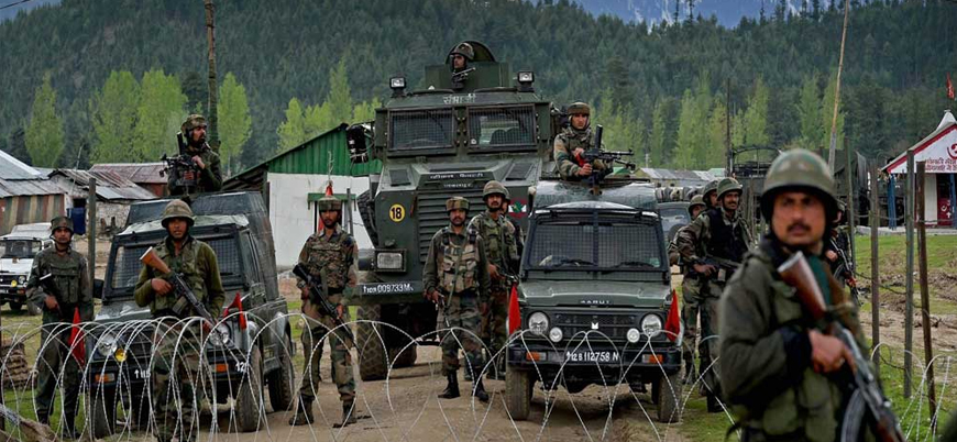 Keşmir'de Hint ordusuna saldırı: 2 ölü