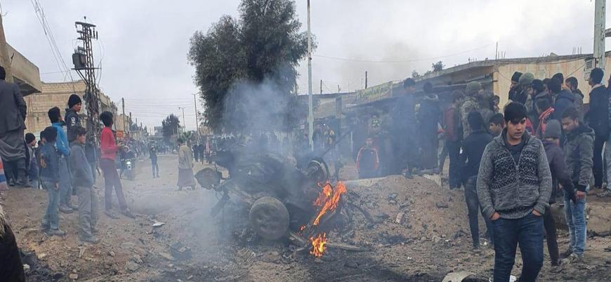 Tel Abyad'da bombalı araçla saldırı: 3 ölü 4 yaralı