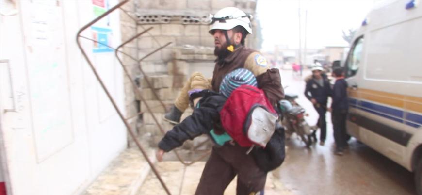 Rusya ve Esed rejiminden İdlib'de sivil katliamı: 8 sivil öldü