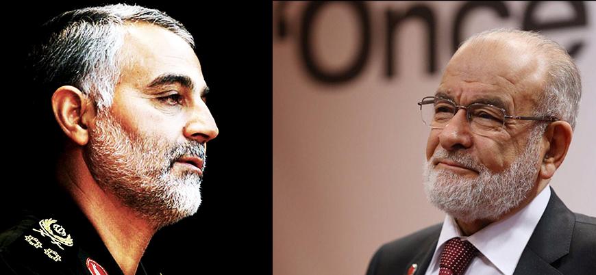Saadet Partisi lideri Karamollaoğlu: Kasım Süleymani'nin ölümünü üzüntüyle karşıladım
