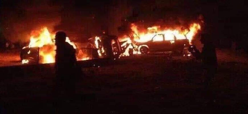 """""""Bağdat'ın kuzeyinde Haşdi Şabi'ye hava saldırısı düzenlendi"""""""