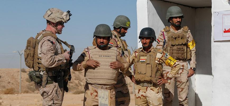 """""""ABD ve müttefikleri Bağdat hükümetine verdiği askeri eğitimi askıya aldı"""""""