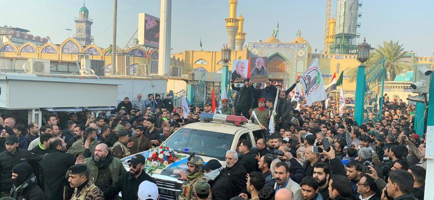 Kasım Süleymani için Bağdat'ta cenaze töreni düzenleniyor