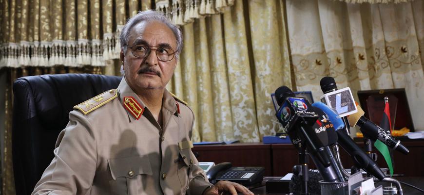Hafter Libya'da Türkiye'ye karşı 'cihat' ilan etti