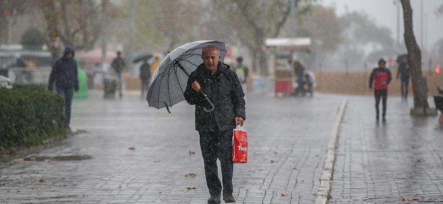 Meteorolojiden 'kuvvetli sağanak ve kar' uyarısı