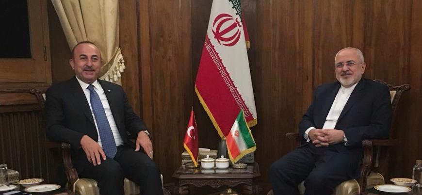 Dışişleri Bakanı Çavuşoğlu İranlı mevkidaşı Zarif ile Süleymani'yi görüştü