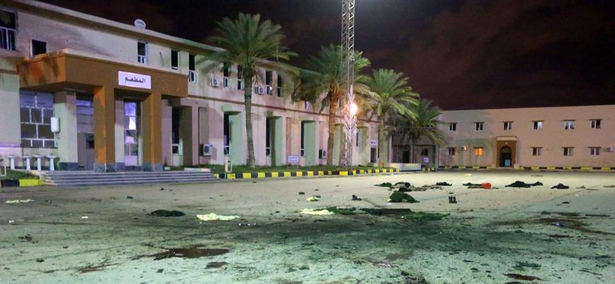 Libya'da askeri okula saldırı: 30 ölü 33 yaralı