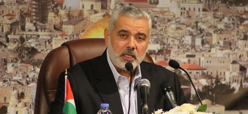 Hamas lideri Heniye'den İran'a Kasım Süleymani için başsağlığı mesajı