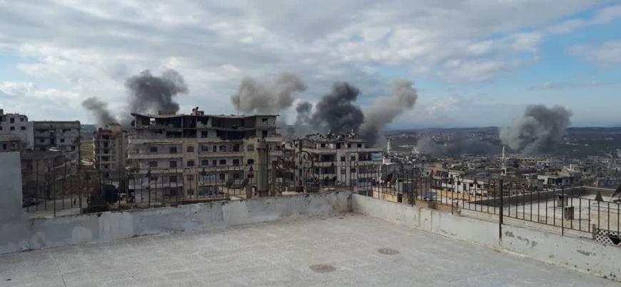 Rusya, İran ve Esed rejimi İdlib'de sivillere karşı katliama devam ediyor
