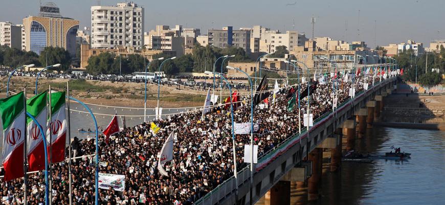 Kasım Süleymani için İran genelinde törenler düzenleniyor
